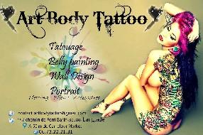 logo Art Body Tattoo