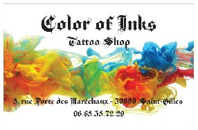 Color of Inks Saint Gilles