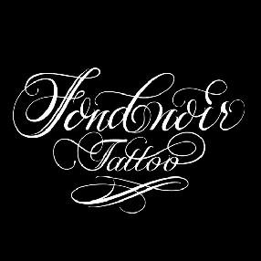 logo Fond Noir Tattoo